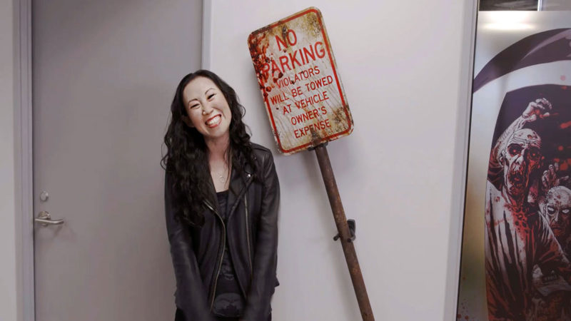 Find out Which Iconic Props Hang in the <em>The Walking Dead</em> Offices