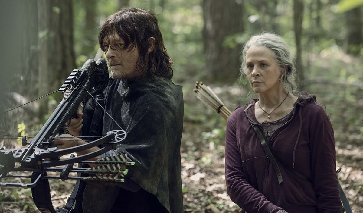 Angela Kang's Talks Daryl and Carol With <em>TVLine</em>; <em>EW</em> on Flashbacks in <em>The Walking Dead</em> Season 10