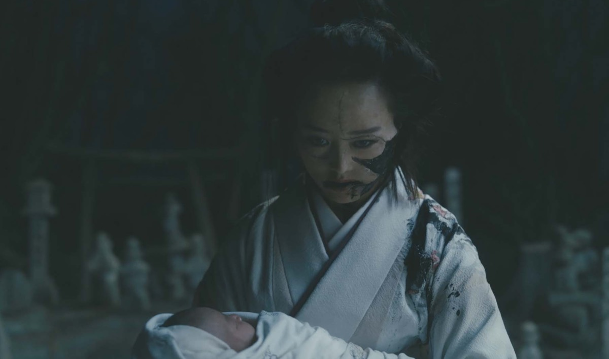 Yuko Takes Chester and Luz's Baby to the Grave