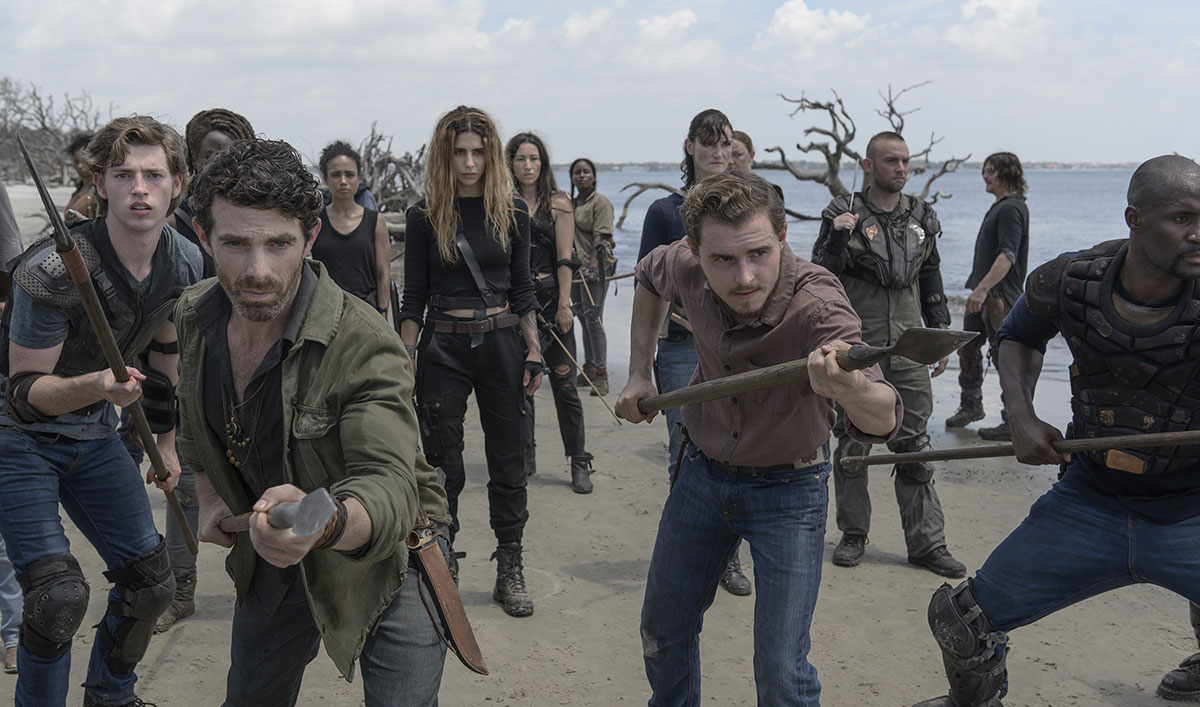 Go Behind the Scenes of <em>The Walking Dead</em> Season 10 Premiere