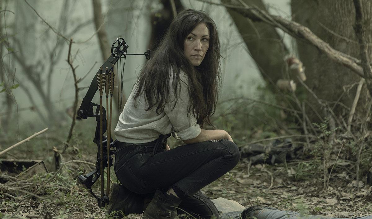 (SPOILERS) <em>The Walking Dead</em> Q&A — Eleanor Matsuura (Yumiko)