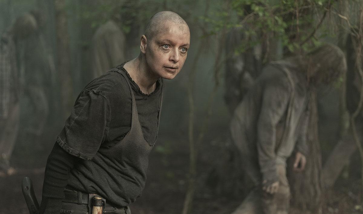 Go Inside Alpha's Psychological Warfare With <em>The Walking Dead</em> Cast and Creators