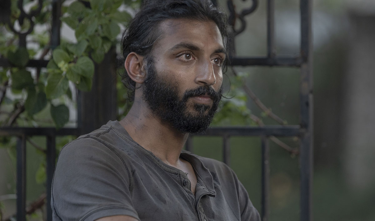 (SPOILERS) <em>The Walking Dead</em> Q&A — Avi Nash (Siddiq)