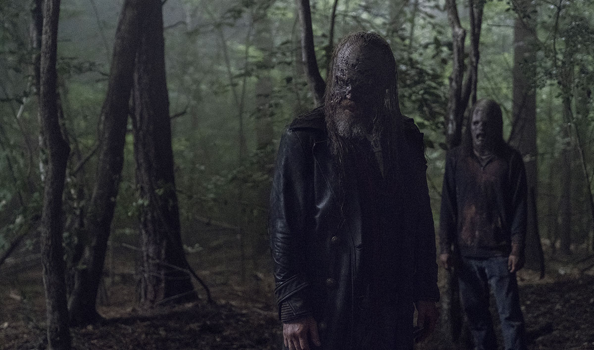 See Who's Waltzing Into Whisperer Camp in This Scene From <em>The Walking Dead</em> Episode 5