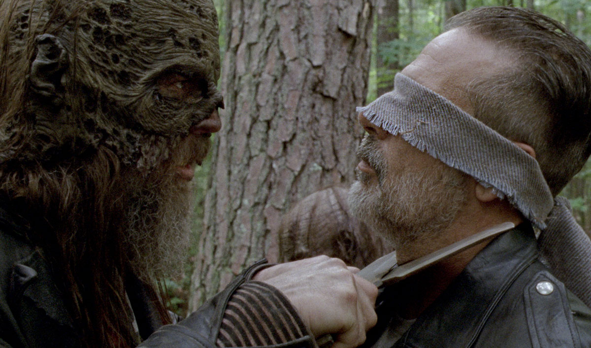 Sneak Peek of <em>The Walking Dead</em> Episode 6: Negan Tries to Talk His Way Into the Whisperers