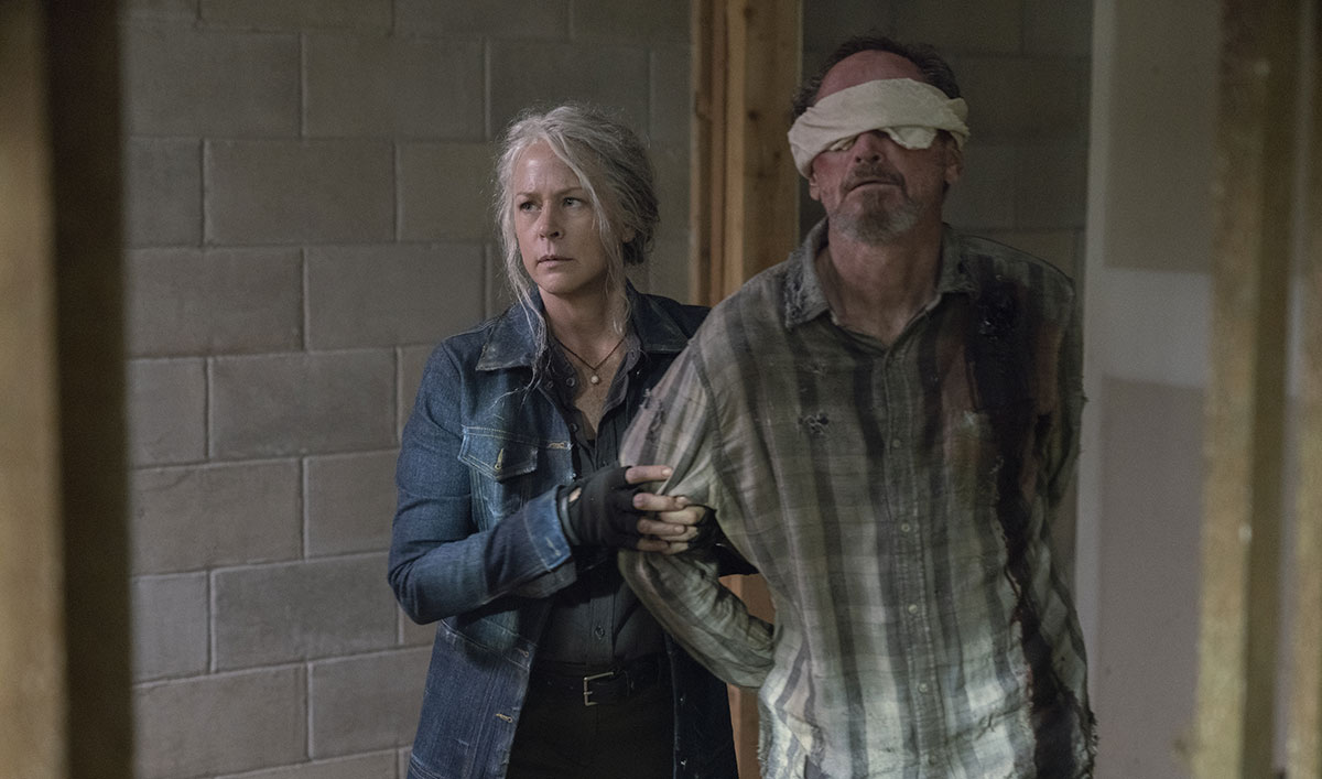 Sneak Peek of <em>The Walking Dead</em> Episode 7: Carol Is Going to Have to Answer to Michonne
