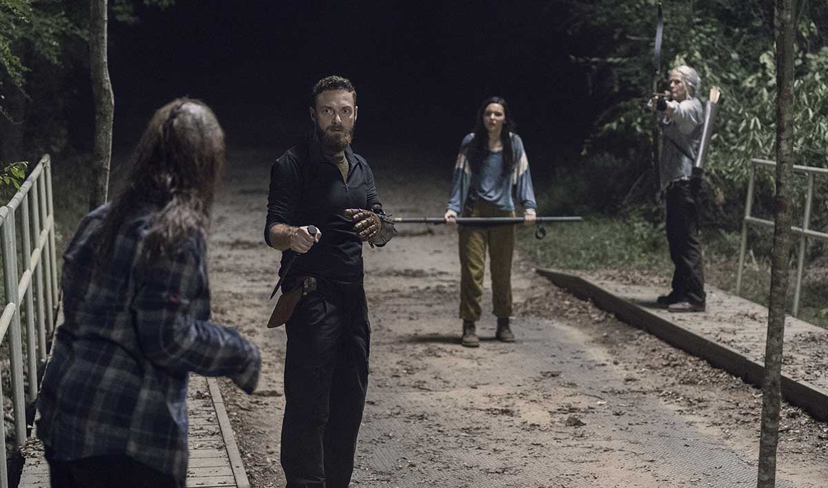 The Cast and Creators Break Down the Shifting Alliances in <em>The Walking Dead</em> Season 10