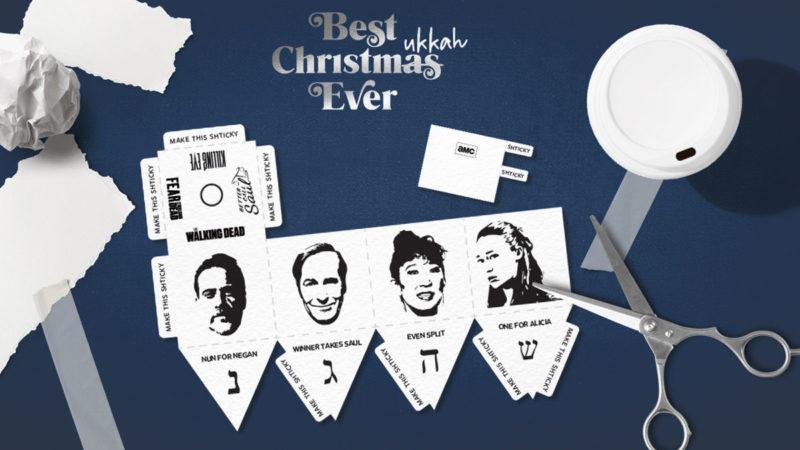 Best Christmukkah Ever: Build Your Very Own AMC Dreidel