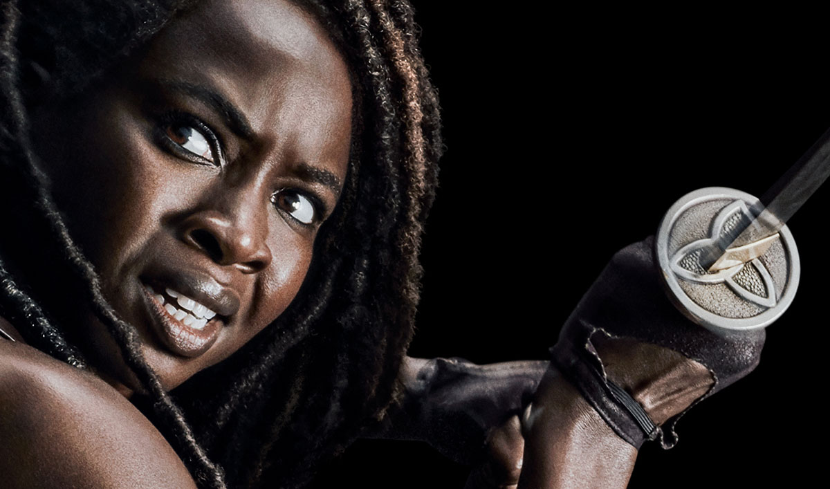 "New <em>TWD</em> Season 10 Posters Featuring Daryl, Carol, Michonne and Alpha Declare ""We Are The Walking Dead"""