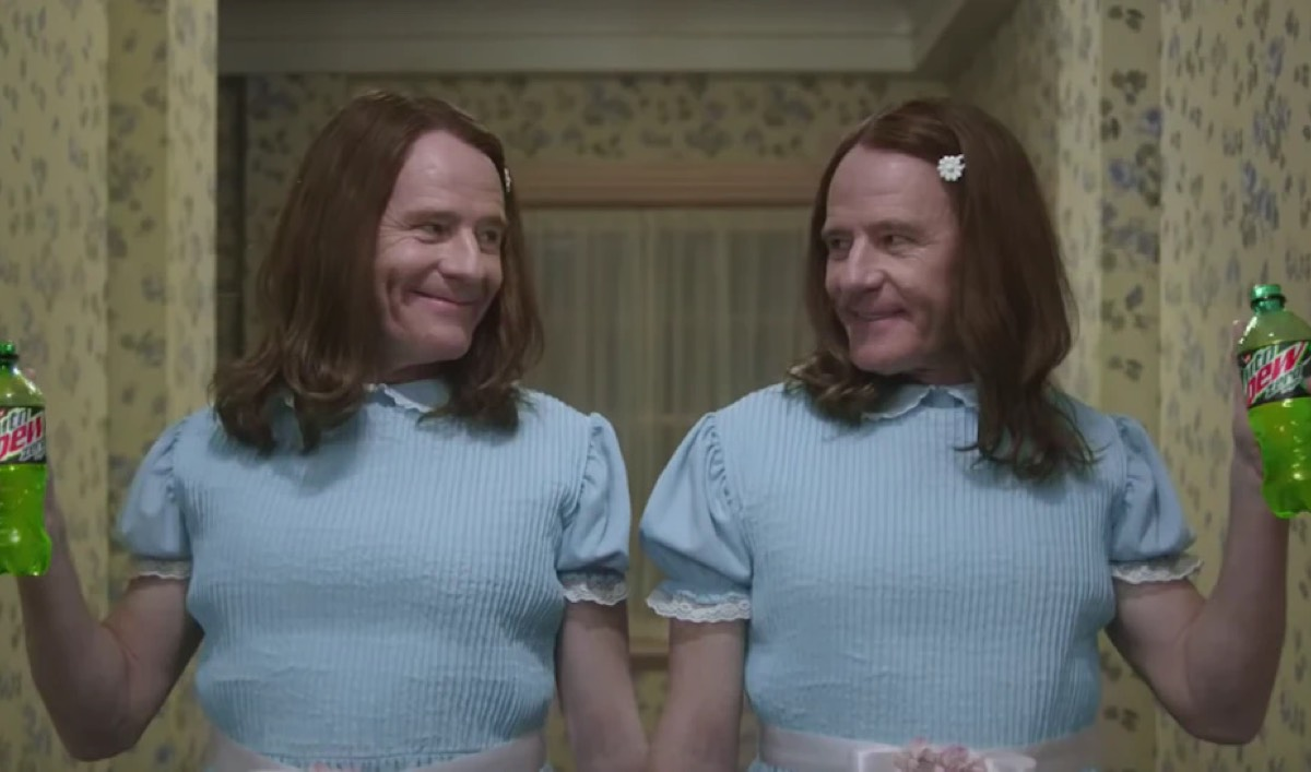 Bryan Cranston Reenacts <em>The Shining</em> in Super Bowl Commercial