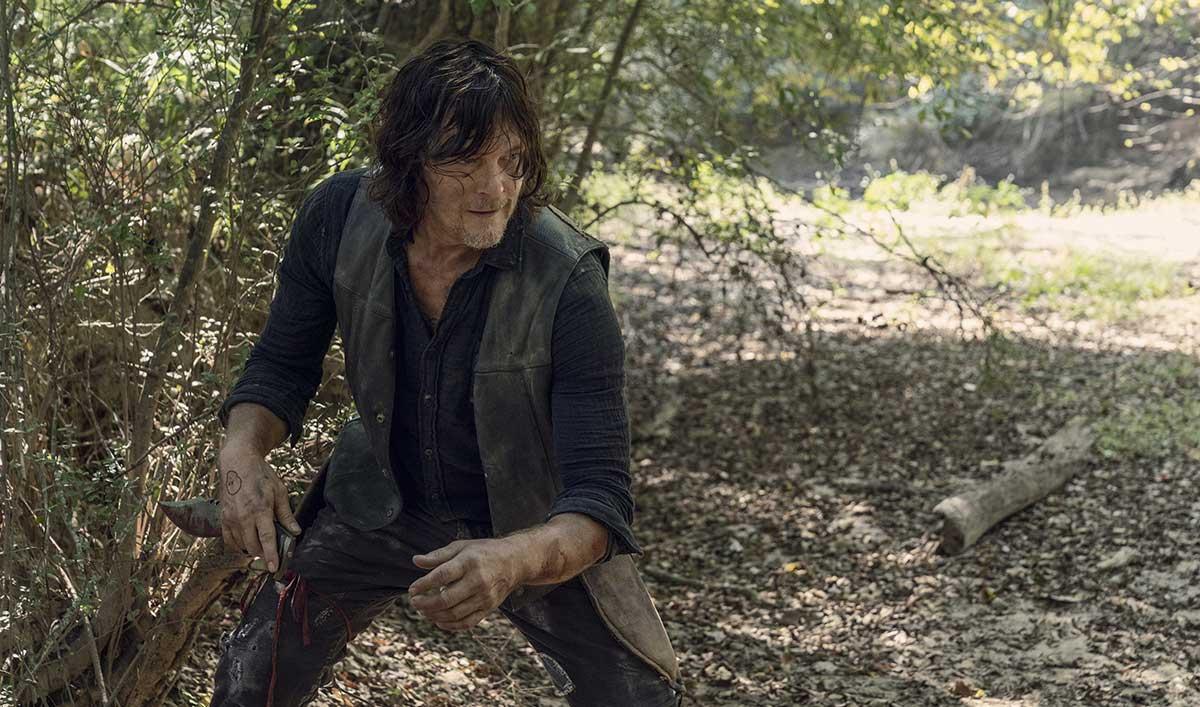 Sneak Peek of <em>The Walking Dead</em> Episode 10: Has Daryl Found the Source of Alpha Strength?