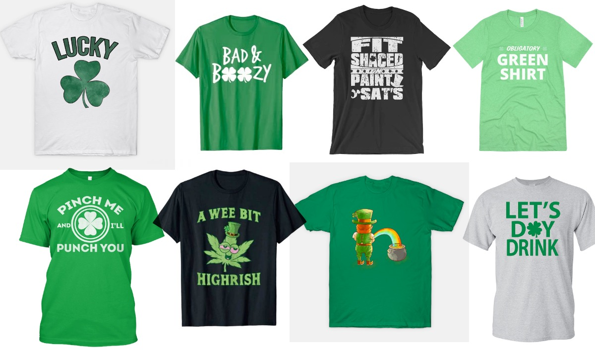St. Patrick's Day T-Shirts for Every Personality