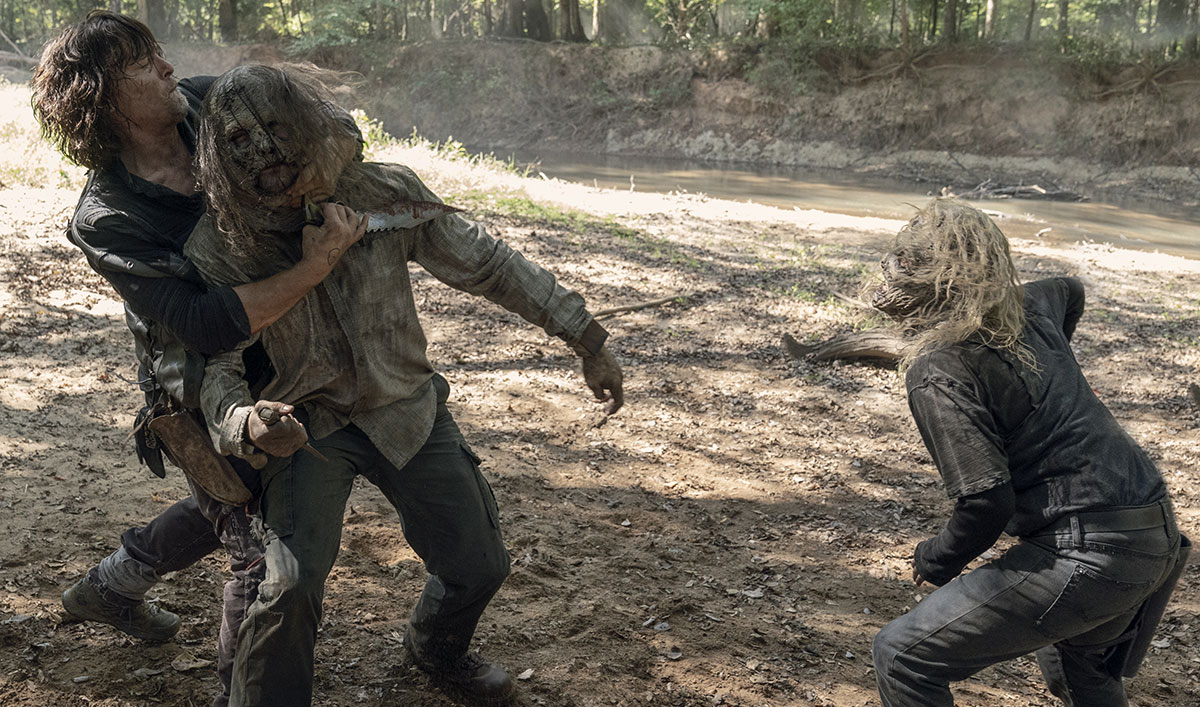 Epic Showdown Alert!: It's Daryl vs. Alpha in <em>The Walking Dead</em> Episode 10 — Stream Now