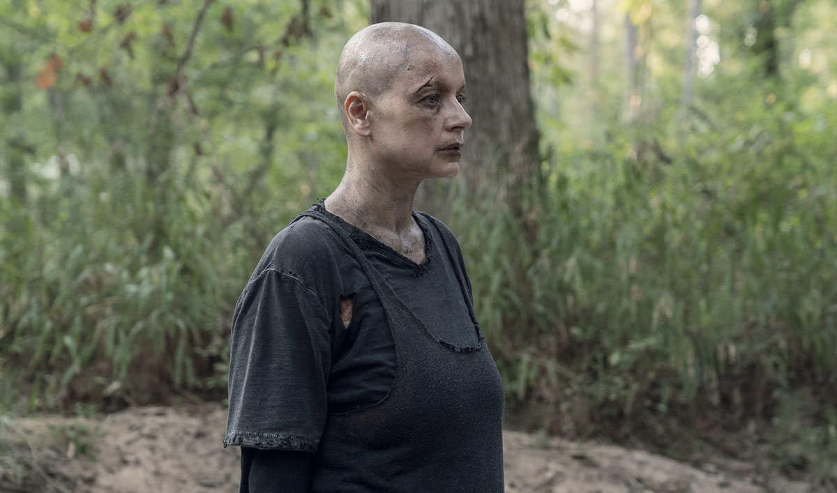 (SPOILERS) <em>The Walking Dead</em> Q&A — Samantha Morton (Alpha)