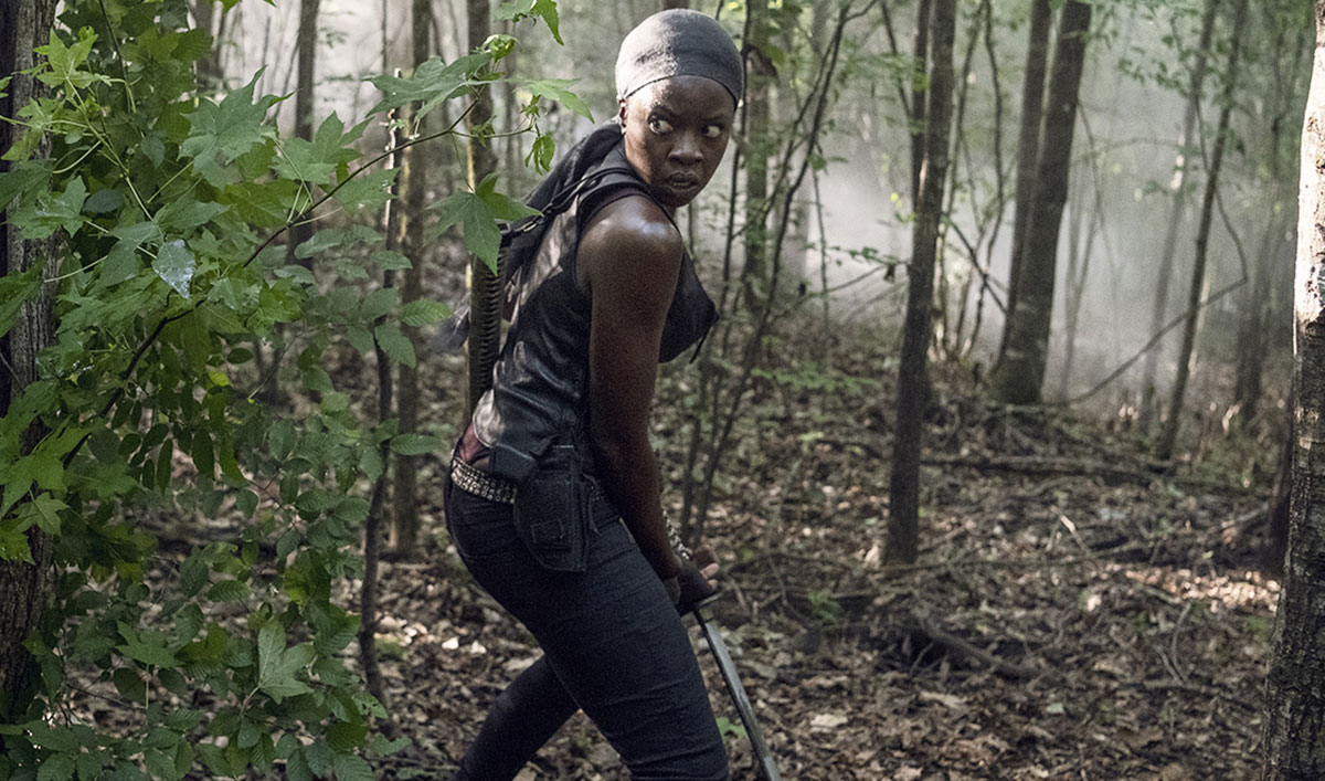 <em>The Walking Dead</em> Q&A — Danai Gurira (Michonne)