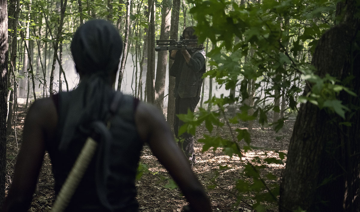 What If Michonne Was a Savior? Watch a Terrifying Alternate Version of Her Life From <em>The Walking Dead</em> Episode 13