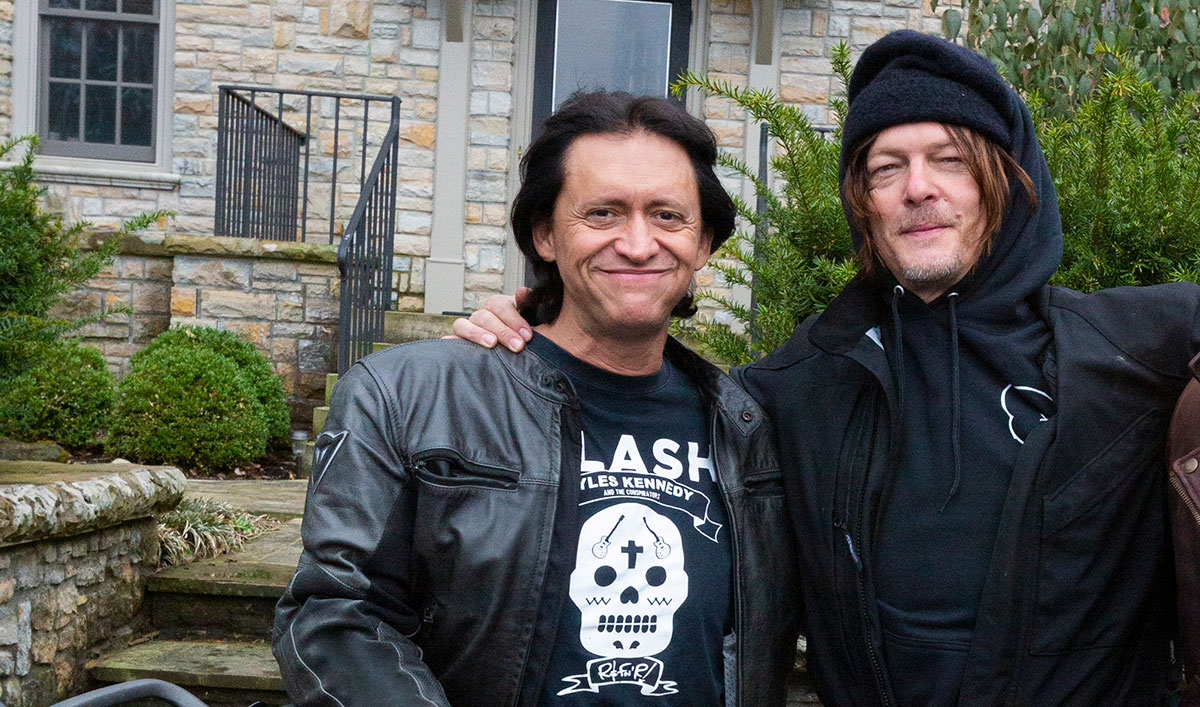 <em>Ride With Norman Reedus</em> Q&A — Clifton Collins Jr.