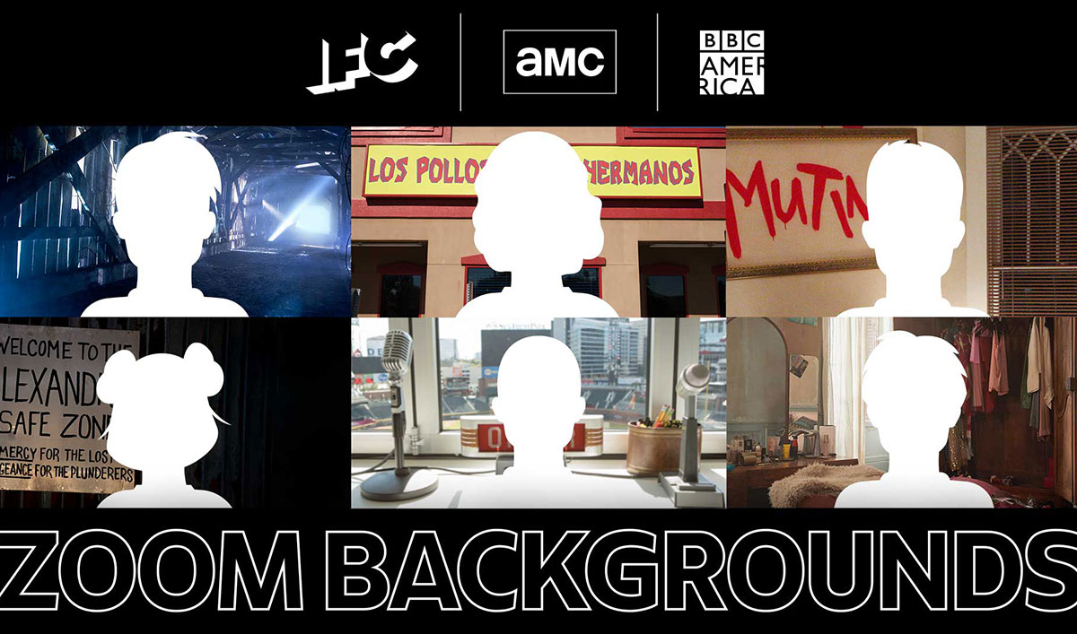 Spice Up Your Video Calls With Backgrounds From Your Favorite AMC Networks Shows
