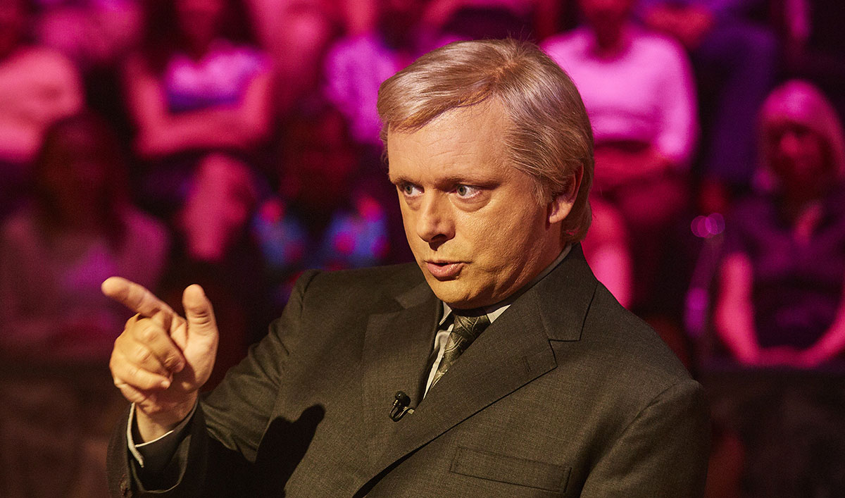 <em>Quiz</em> Q&A — Michael Sheen (Chris Tarrant)