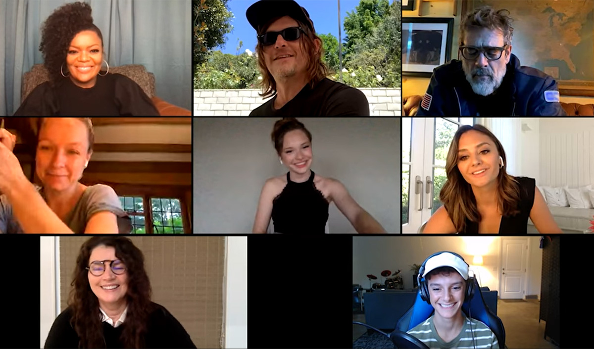 Watch the <em>The Walking Dead</em> Universe Family Hangout, Featuring Norman Reedus, Melissa McBride, Lennie James and More
