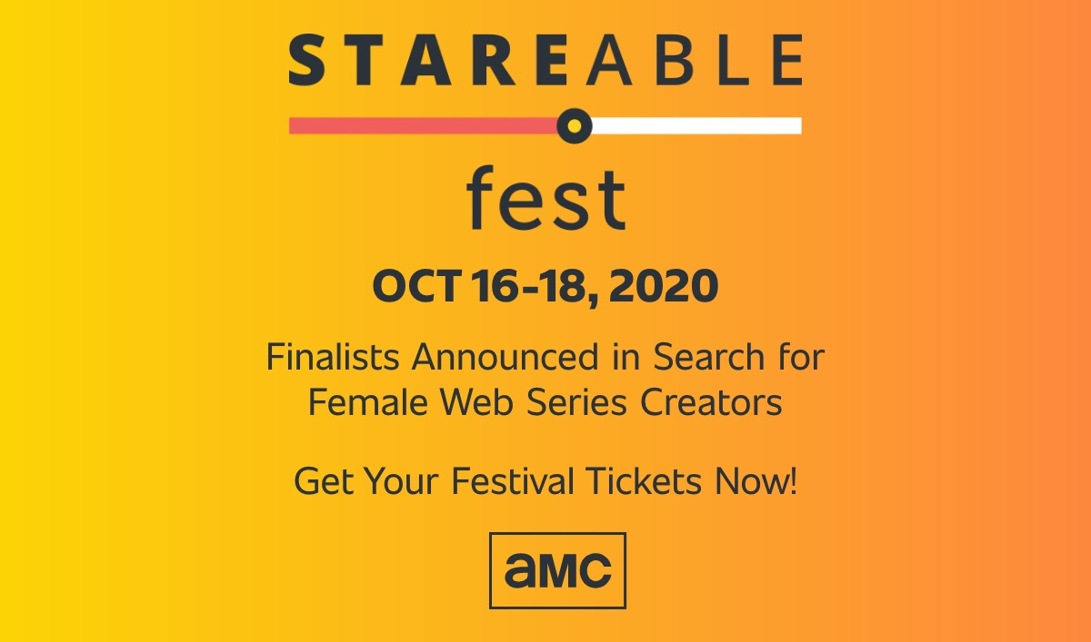 AMC Networks and Stareable Fest Announce Finalists in Competition Recognizing Female Creators