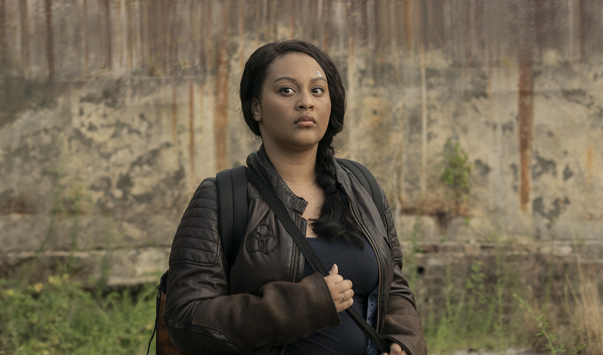 <em>The Walking Dead: World Beyond</em> Q&A — Aliyah Royale (Iris)