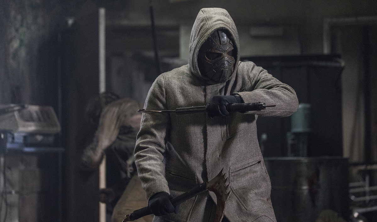 Who Is the Man in the Mask With Maggie From <em>The Walking Dead</em>? Five Theories So Wild They Can't Possibly Be True