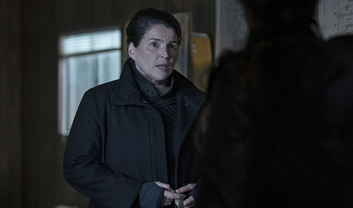 <em>The Walking Dead: World Beyond</em> Q&A – Julia Ormond on the True Threat of Elizabeth and the CRM