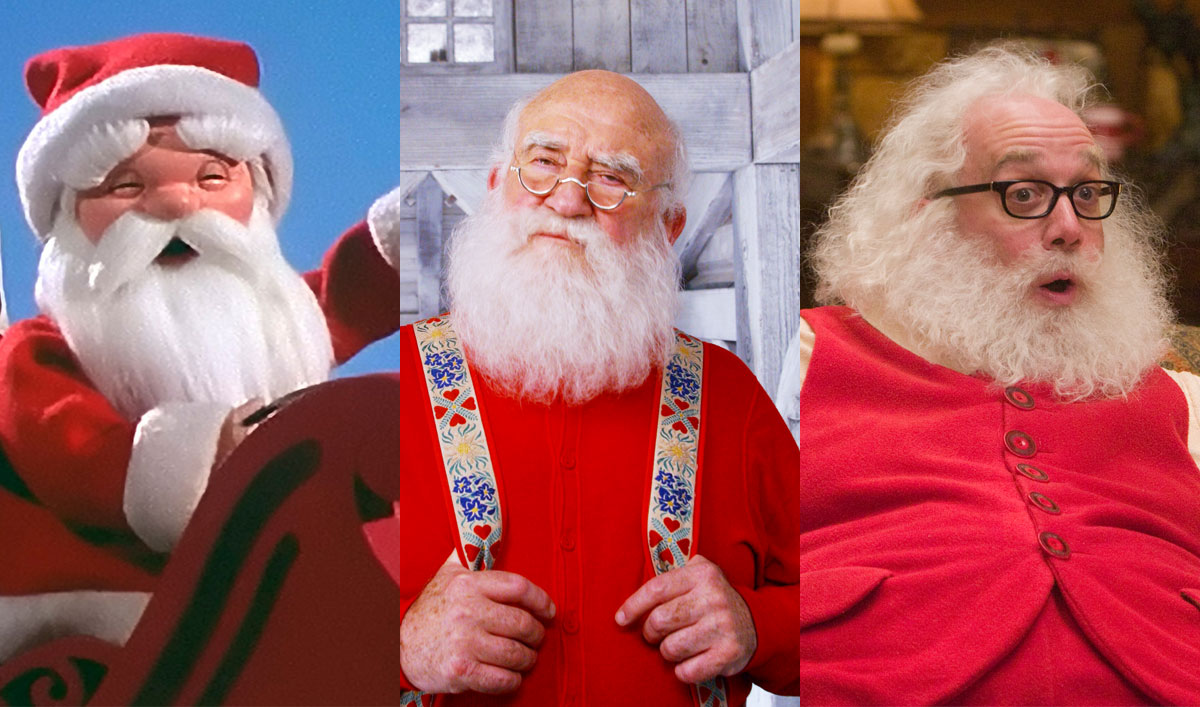 Best Christmas Ever: The Many Versions of Santa Claus in Holiday Movies