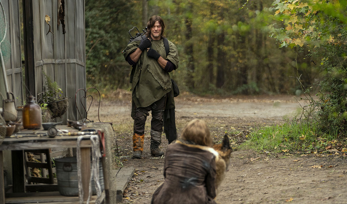 The Walking Dead Q&A — Norman Reedus on What Makes Leah Special to Daryl