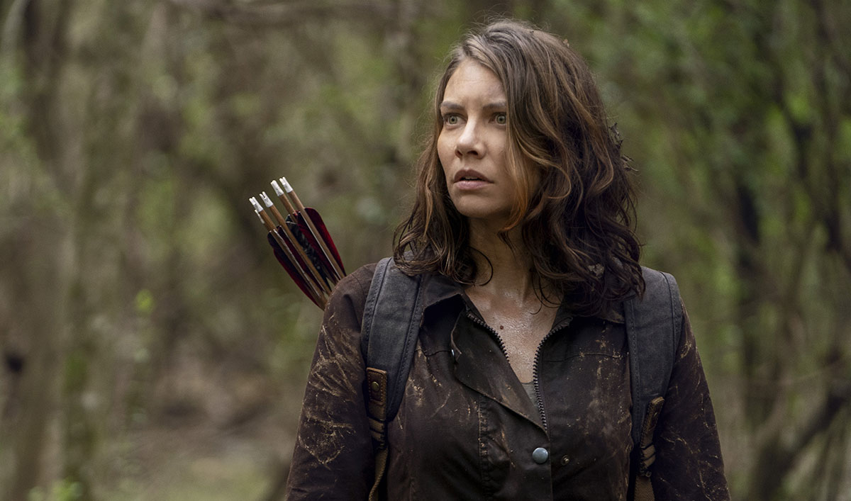 The Walking Dead Q&A — Lauren Cohan on the Callbacks to Glenn and Beth in the Extended 10th Season Premiere