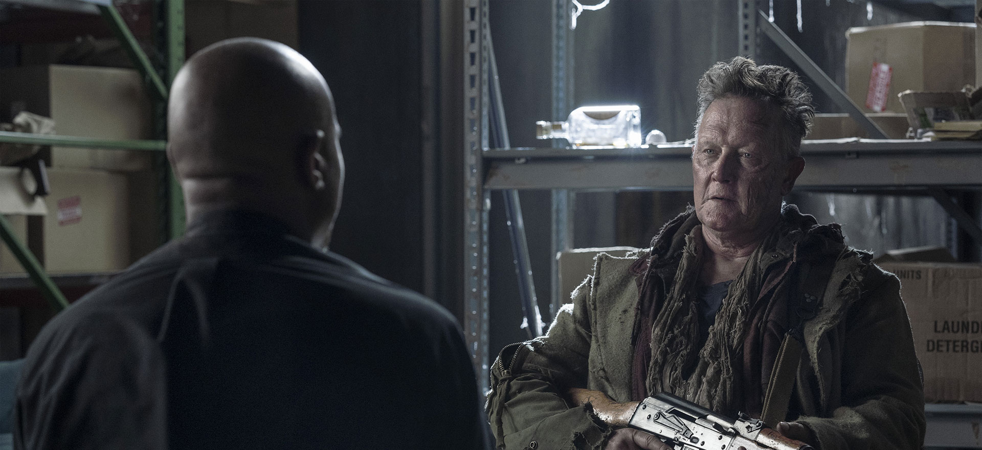 The Walking Dead Q&A — Robert Patrick on the Tragedy of Mays
