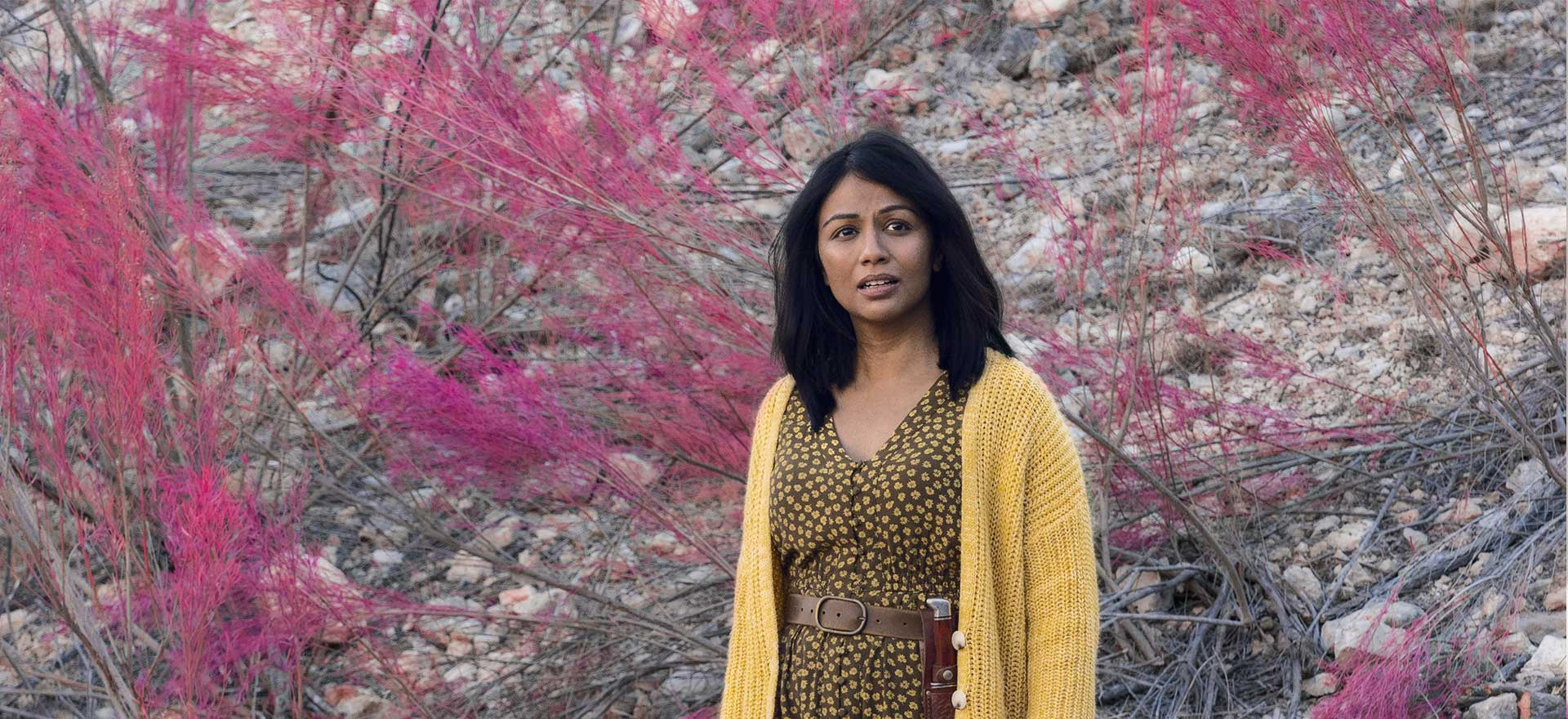 <em>Fear the Walking Dead</em> Q&A — Karen David Reflects On The Scene That Broke Her and What's Next for Grace