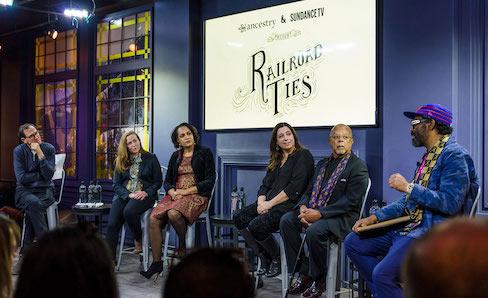 Ancestry & SundanceTV: Railroad Ties