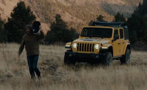 Jeep Wrangler 4xe Dark Skies