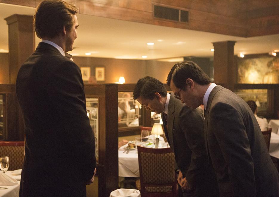 Joe MacMillan (Lee Pace), Hirohiko Taketa (Scott Takeda) y Shuji Kobayashi  Foto: Blake Tyers/AMC