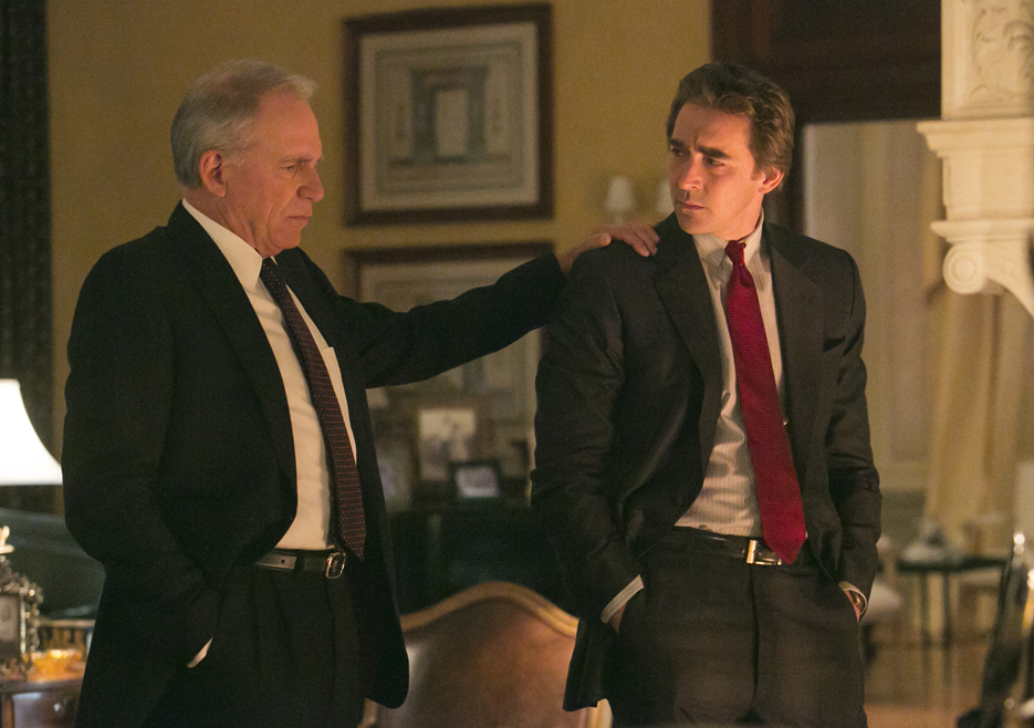 Joe MacMillan Padre (John Getz) y Joe MacMillan (Lee Pace) Foto: Tina Rowden/AMC