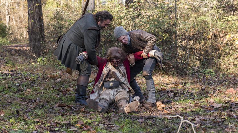 Robert Rogers (Angus Macfadyen)  e Abe Woodhull (Jamie Bell) en Episodio 1 Foto de Antony Platt/AMC