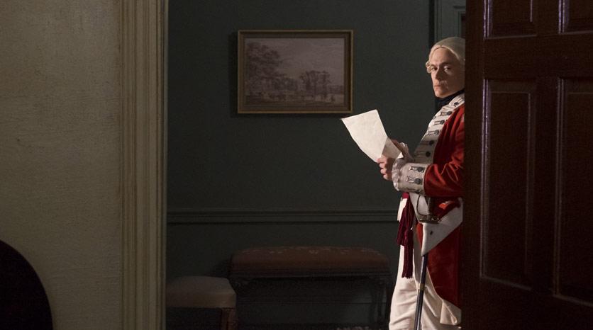 Major Hewlett (Burn Gorman) en Episodio 1 Foto de Antony Platt/AMC