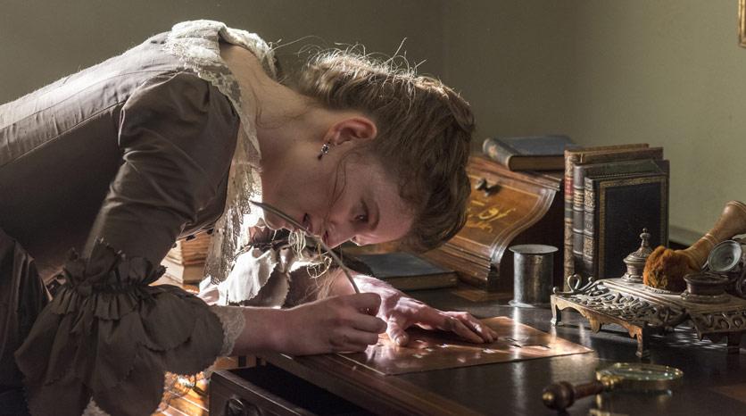 Mary Woodhull (Meegan Warner) Episodio 1 Foto de Antony Platt/AMC