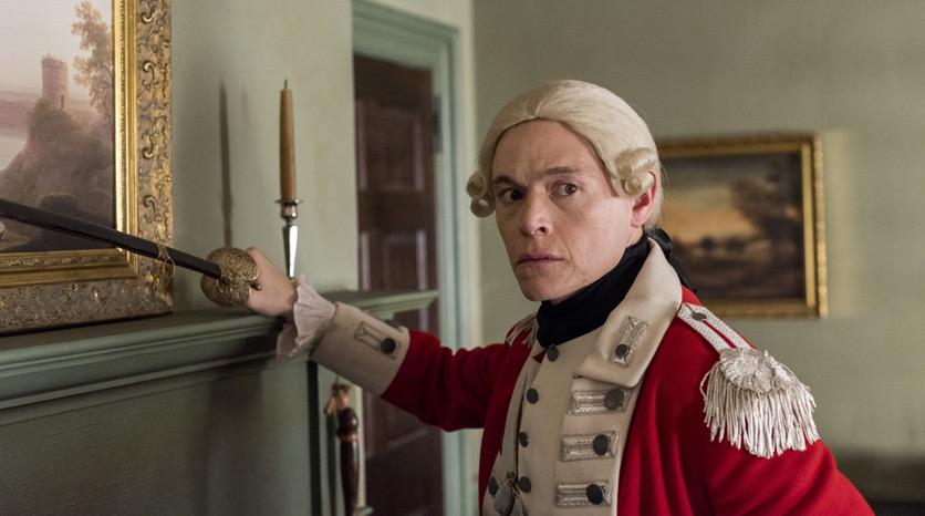 Major Hewlett (Burn Gorman) en Episodio 2 Foto de Antony Platt/AMC