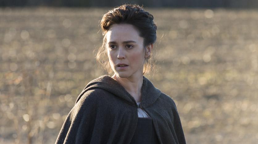 Anna Strong (Heather Lind) en el Episodio 3 Foto de Antony Platt/AMC
