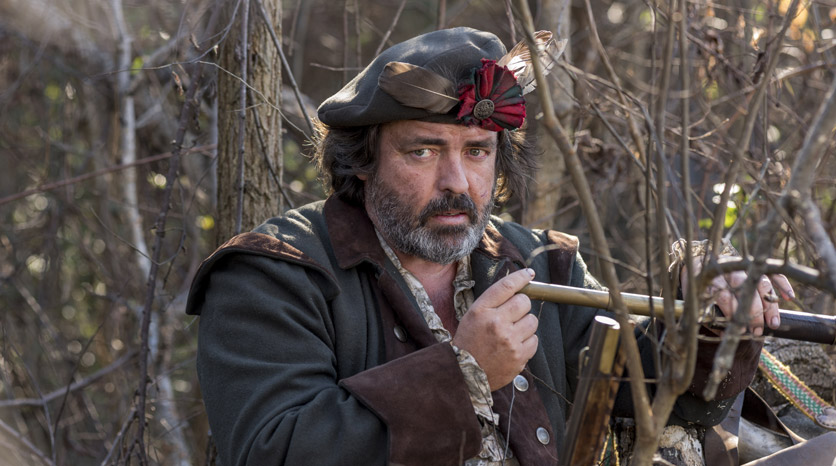 Robert Rogers (Angus Macfadyen) en el Episodio 3 Foto de Antony Platt/AMC