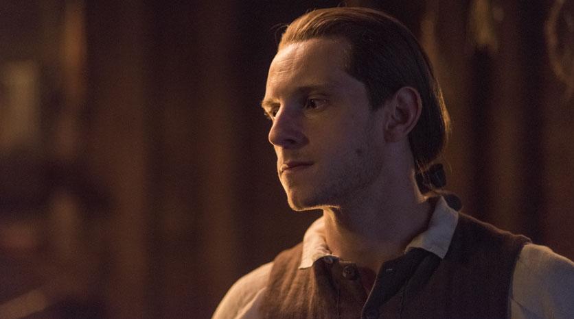 Abe Woodhull (Jamie Bell) en el Episódio 4 Foto de Antony Platt/AMC