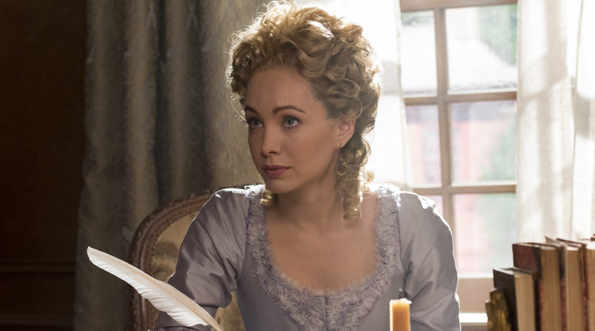 Peggy Shippen (Ksenia Solo) en el Episodio 4 Foto de Antony Platt/AMC