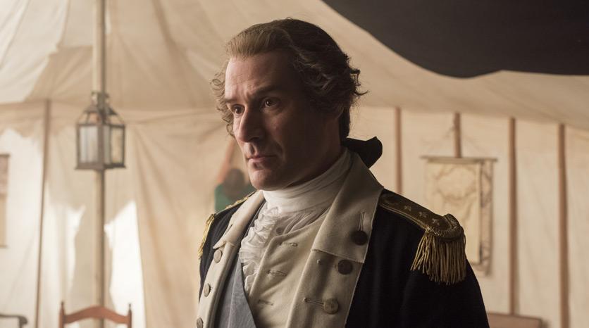 George Washington (Ian Khan) en el Episodio 5 Foto de Antony Platt/AMC