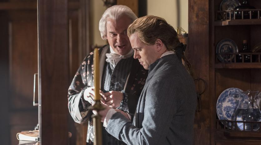 Robert Twonsend (Nick Westrate) y Rivington (John Lynch) en el Episodio 5 Foto de Antony Platt/AMC