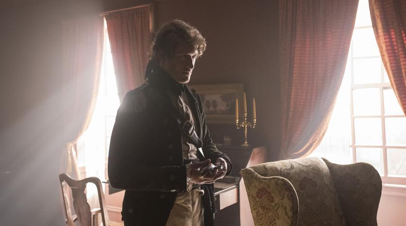 John Graves Simcoe (Samuel Roukin) en el Episodio 5 Foto de Antony Platt/AMC