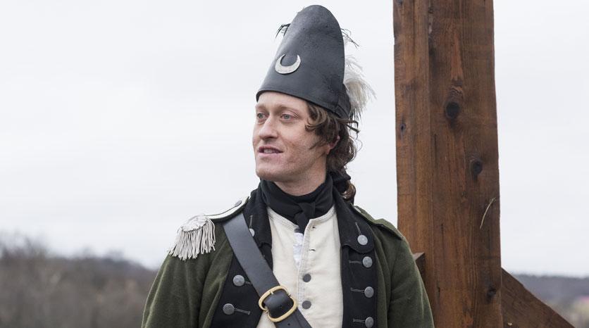 Lt. John Simcoe (Samuel Roukin) Episodio 10 Foto de Antony Platt/AMC