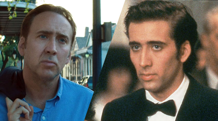 Nicolas Cage-now and then